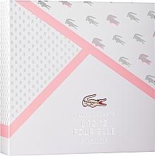 Parfumuri și produse cosmetice Lacoste Eau de Lacoste L.12.12 Pour Elle Sparkling - Set (edt/90/ml + sh/gel/150/ml)
