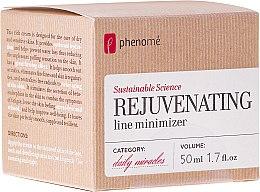 Parfumuri și produse cosmetice Crema pentru pielea uscată și sensibilă - Phenome Sustainable Science Rejuvenating Line Minimizer