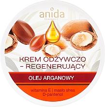 Духи, Парфюмерия, косметика Питательный крем с аргановым маслом - Anida Pharmacy Argan Oil Nourishing Cream
