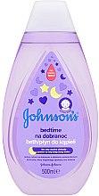 """Parfumuri și produse cosmetice Spumă de baie """"Înainte de somn"""" - Johnson's Baby"""