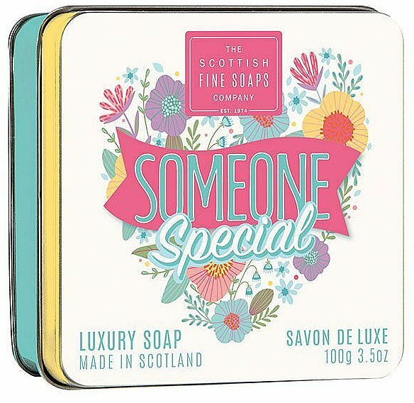 "Мыло ""Кто-то особенный"" - Scottish Fine Soaps Someone Special Soap In A Tin — фото N1"