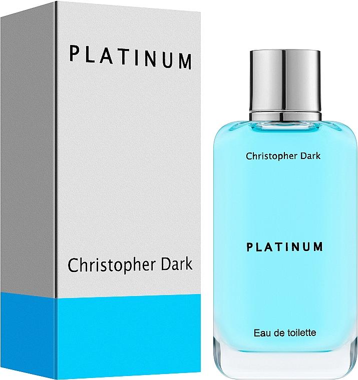 Christopher Dark Platinum - Apă de toaletă