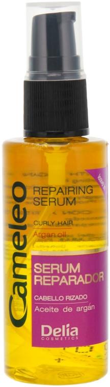 Ser regenerator pentru păr creț - Delia Cameleo Serum