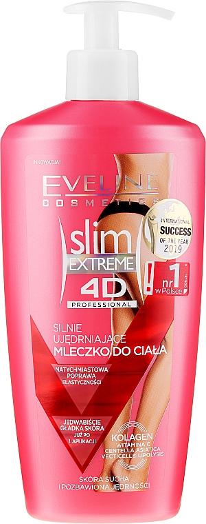 Lapte cu efect de întărire pentru corp - Eveline Cosmetics Slim Extreme 4D