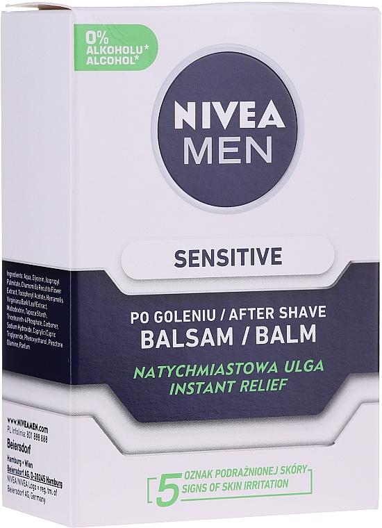 Set - Nivea Men Sensitive Elegance 2020 (foam/200ml + af/sh/balm/100ml + deo/50ml + cr/75ml + bag) — Imagine N3