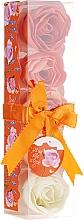 """Parfumuri și produse cosmetice Confetti pentru baie """"Portocală"""", 5 bucăți - Spa Moments Bath Confetti Orange"""