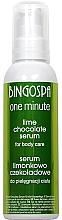 Parfumuri și produse cosmetice Ser pentru corp cu ciocalată, lime - BingoSpa