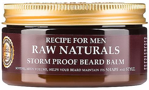 Balsam de barbă - Recipe For Men RAW Naturals Storm Proof Beard Balm