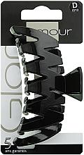 Parfumuri și produse cosmetice Agrafă de păr, 0212, neagră - Glamour