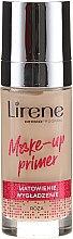 Parfumuri și produse cosmetice Bază matifiantă pentru machiaj - Lirene Make-Up Primer Rose