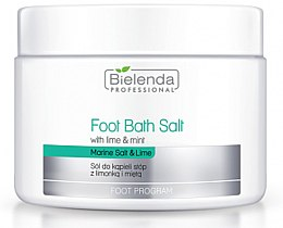 Духи, Парфюмерия, косметика Соль для педикюра с лаймом и мятой - Bielenda Professional Foot Bath Salt with Lime & Mint