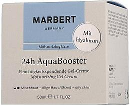 Parfumuri și produse cosmetice Cremă hidratantă pentru ten gras - Marbert 24h Aquabooster Moisturizing Gel Cream Combination Skin-Oily Skin