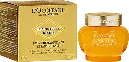 Parfumuri și produse cosmetice Balsam de curățare pentru față - L'Occitane Immortelle Divine Cleansing Balm