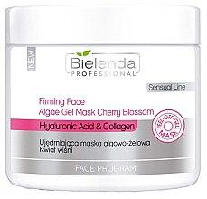 Parfumuri și produse cosmetice Mască-gel alginată cu extract de vișini - Bielenda Professional Program Face Firming Face Algae Gel Mask Cherry Blossom