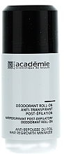 Parfumuri și produse cosmetice Дезодорант антиперспирант после эпиляции - Academie Acad'Epil Deodorant Roll-on Specifique Post