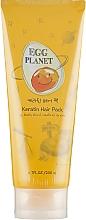 Parfumuri și produse cosmetice Mască cu keratină pentru păr deteriorat - Daeng Gi Meo Ri Egg Planet Keratin Hair Pack