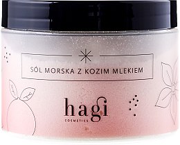 """Parfumuri și produse cosmetice Sare de mare """"Lapte de capră"""" - Hagi Bath Salt"""