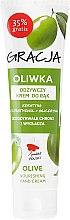 Parfumuri și produse cosmetice Cremă nutritivă pentru mâini cu ulei de măsline - Miraculum Gracja Olive Hand Cream