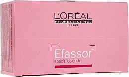 Parfumuri și produse cosmetice Șervețele umede pentru îndepărtarea petelor de vopsea - L'Oreal Professionnel Efassor