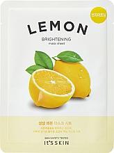 Parfumuri și produse cosmetice Mască de țesut cu extract de lămâie - It's Skin The Fresh Mask Sheet Lemon