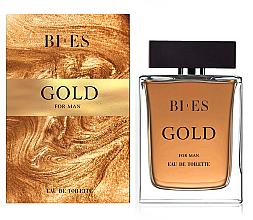 Parfumuri și produse cosmetice Bi-es Gold For Man Eau De Toilette - Apă de toaletă