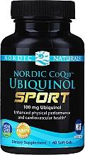 "Parfumuri și produse cosmetice Supliment alimentar ""Ubiquinol Q10 pentru sportivi"", 100 mg - Nordic Naturals CoQ10 Ubiquinol Sport"