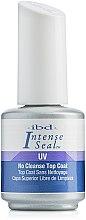 Parfumuri și produse cosmetice Top coat pentru oja semipermanentă - IBD Intense Seal UV No Cleanse Top Coat