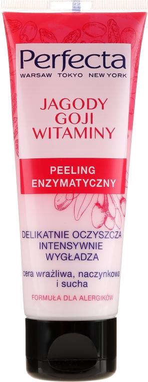 """Peeling enzimatic pentru față """"Goji și vitamine"""" - Perfecta"""