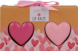 Parfumuri și produse cosmetice Set - Accentra Just For You In A Heart-Shaped Box (l/balm/2x25g)