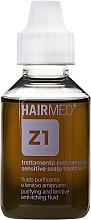 Parfumuri și produse cosmetice Fluid de curățare anti-mâncărime pentru scalp  - Hairmed Z1 Purifying And Lenitive Anti-Itching Fluid