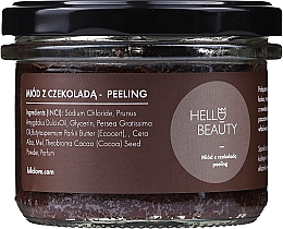 Parfumuri și produse cosmetice Peeling cu sare cu ciocolată și miere de corp - Lullalove Hello Beauty