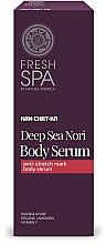 Parfumuri și produse cosmetice Ser pentru corecția vergeturilor - Natura Siberica Fresh Spa Kam-Chat-Ka Deep Sea Nori Body Serum