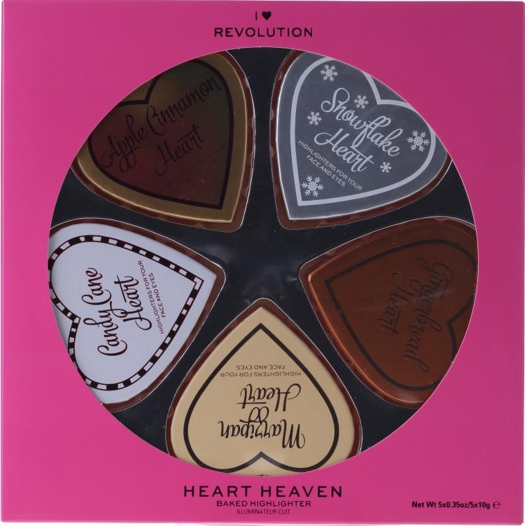 Set - I Heart Revolution I Heaven (highlighter/5x10g) — Imagine N1