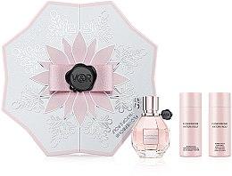 Parfumuri și produse cosmetice Viktor & Rolf Flowerbomb - Set (edp/50ml + b/lot/50ml + sh/gel/50ml)