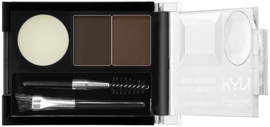 Fard pentru spâncene - NYX Professional Makeup Eyebrow Cake Powder