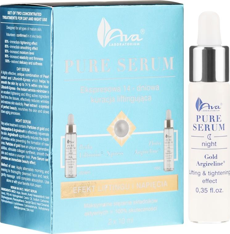 "Сыворотка для лица ""Лифтинг"" - Ava Laboratorium Pure Serum"