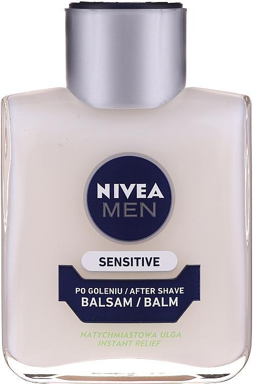 Set - Nivea Men Sensitive Elegance 2020 (foam/200ml + af/sh/balm/100ml + deo/50ml + cr/75ml + bag) — Imagine N4