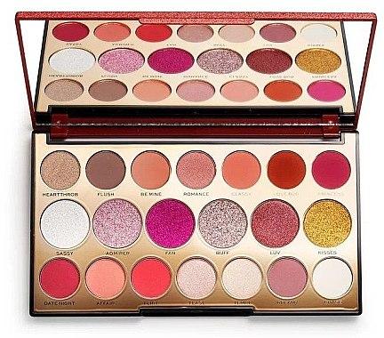 Paletă farduri de ochi, 20 nuanțe - Makeup Revolution Precious Stone