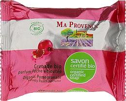 Parfumuri și produse cosmetice Săpun bio-organic cu aromă de rodie - Ma Provence Organic Soap