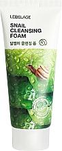 Parfumuri și produse cosmetice Spumă cu extract de mucină de melc pentru curățarea feței - Lebelage Snail Cleansing Foam