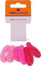 Parfumuri și produse cosmetice Elastice pentru păr 6 buc., 22432 - Top Choice