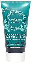 Parfumuri și produse cosmetice Mască pentru curățarea tenului - Lumene Puhdas Deeply Purifying Birch Charcoal Mask