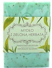 "Parfumuri și produse cosmetice Мыло ""Зеленый чай"" - Scandia Cosmetics"