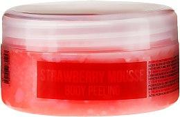 """Parfumuri și produse cosmetice Scrub pentru corp """"Mousse de căpșuni"""" - Hristina Stani Chef'S Strawberry Mousse Body Peeling"""