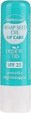 Parfumuri și produse cosmetice Balsam cu ulei organic de cânepă pentru buze - GlySkinCare Organic Hemp Seed Oil Lip Care