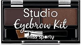 Parfumuri și produse cosmetice Set de farduri pentru ochi și sprâncene - Miss Sporty Studio Eyebrow Kit