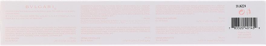 Set - Bvlgari The Women's Gift Collection (edp/2*5ml + edt/3*5ml) — Imagine N2