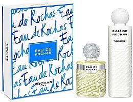 Parfumuri și produse cosmetice Rochas Eau De Rochas - Set (edt/220ml + b/l/500ml)