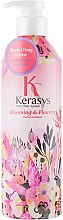 "Parfumuri și produse cosmetice Balsam pentru păr ""Fleur"" - KeraSys Blooming & Flowery Perfumed"