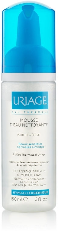 Spumă de curățare - Uriage Cleansing Make-up Remover Foam — Imagine N2